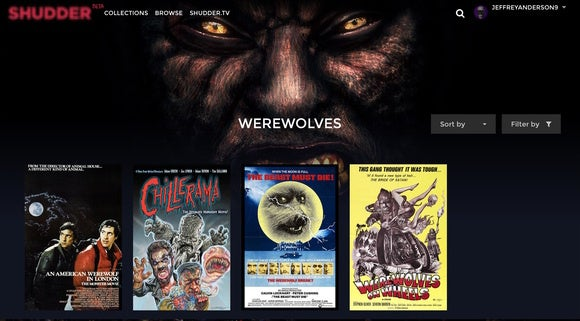 AMC Shudder werewolves