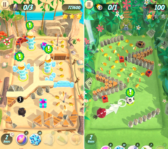 angry birds ranked action