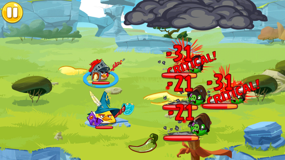 angry birds ranked epic