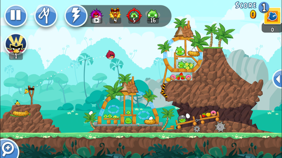 angry birds ranked friends
