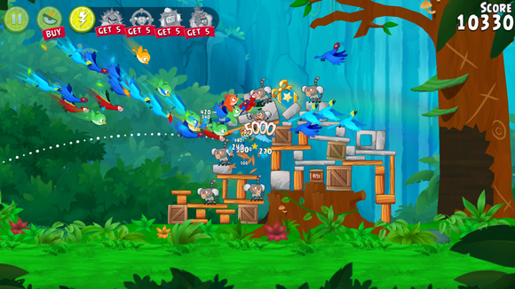 angry birds ranked rio