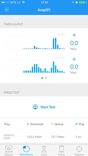 Ubiquiti AmpliFi app