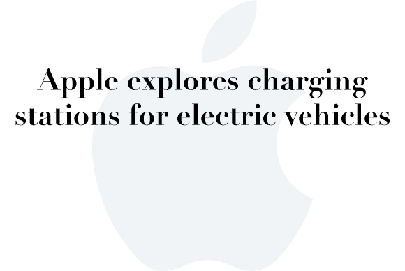 apple car charging station
