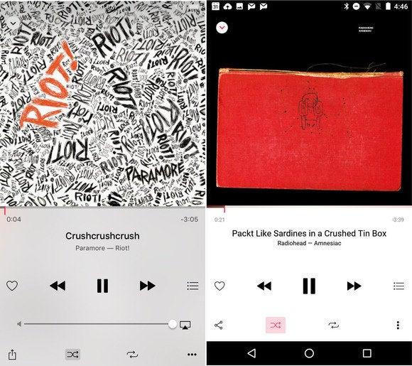 apple music compare