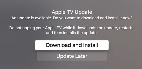 appletv software update