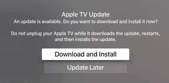 appletv software update