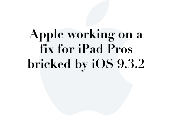 bricked ipad update