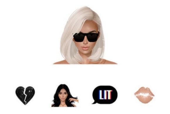 celebrity app for ios kimoji kim kardashian