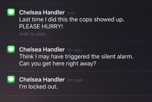 celebrity apps for ios chelsea handler gotta go