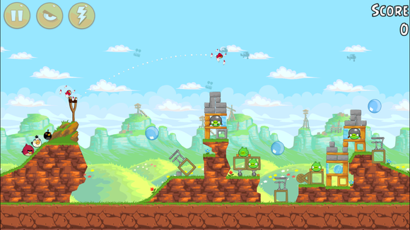 classic iphone games angrybirds