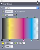 color blend palette