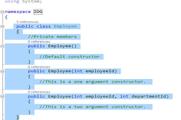 Constructors in C#