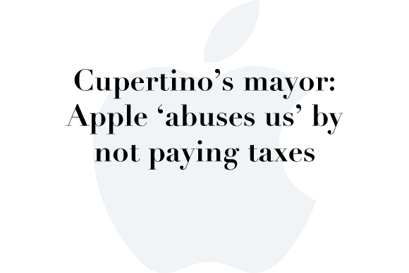 cupertino mayor mad