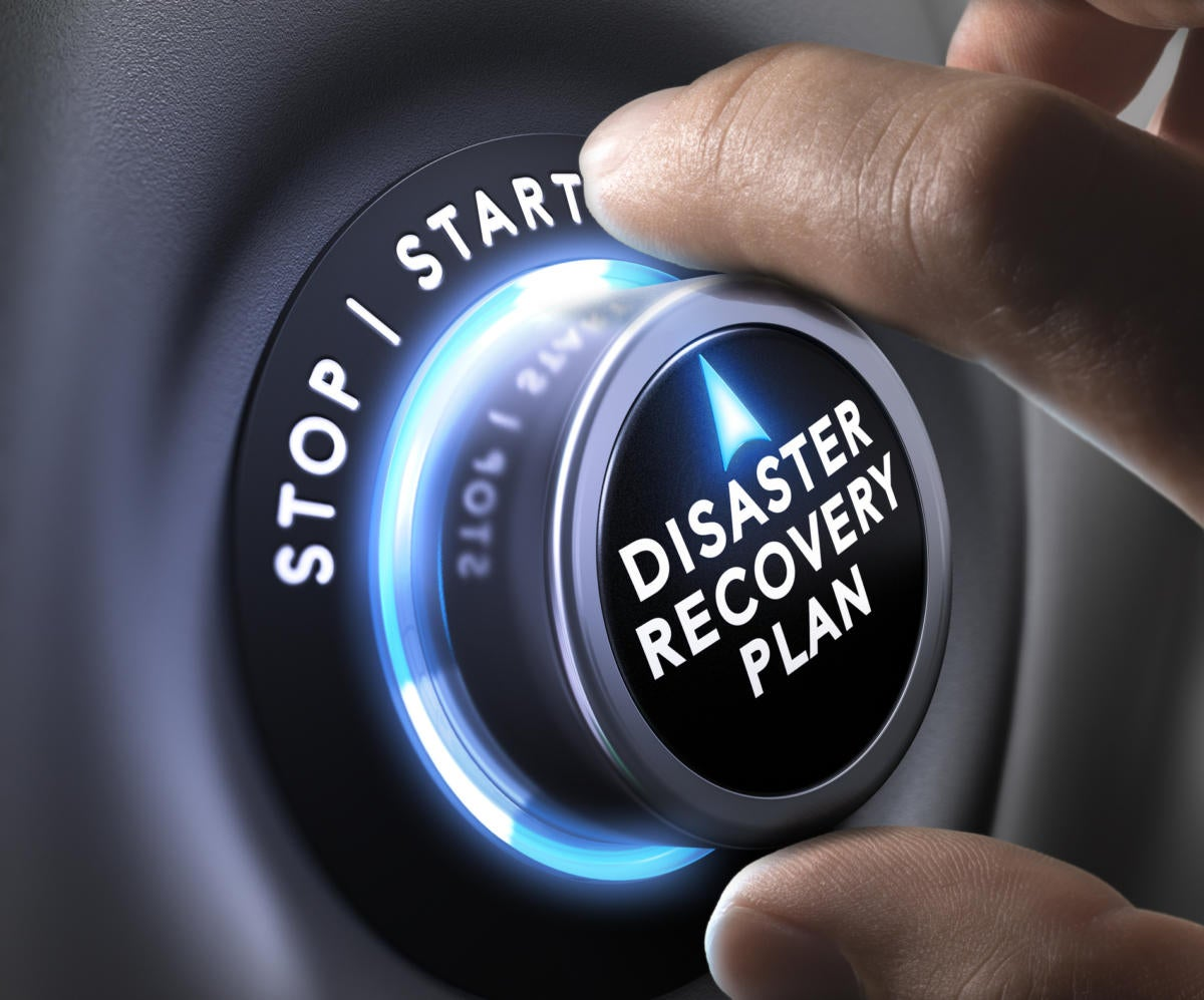 disaster recovery plan ts
