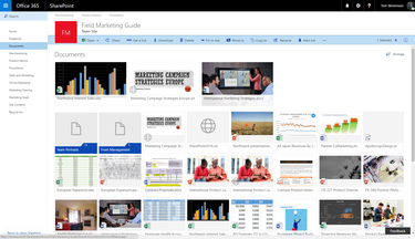 New SharePoint Document Library Experience