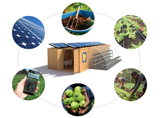 IoT enabled off-the-grid farming for remote communities