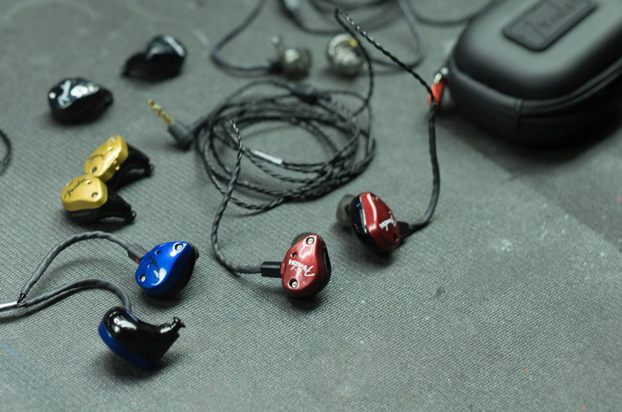 fender fxa6 pro in ear monitors review these are something special techhive. Black Bedroom Furniture Sets. Home Design Ideas
