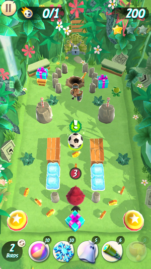 how to know angry birds top score cap