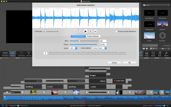 fotomagico 5 audio marker assistant