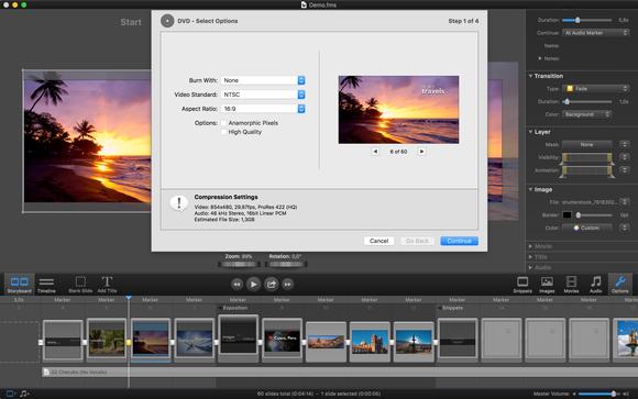 fotomagico 5 export options