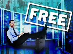 free servers datacenter tools networking worker man
