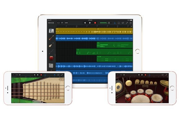 garageband 2.1.1 chinese update stock
