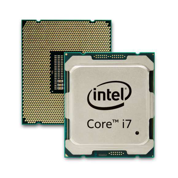 Intel's Core i7 Extreme Edition chip code-named Broadwell E.