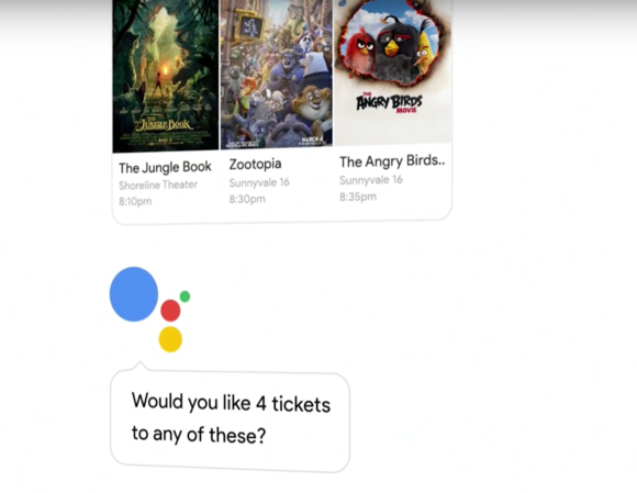 google assistant movies