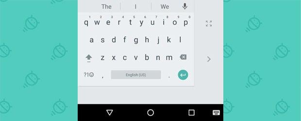 Google Keyboard - One-Handed