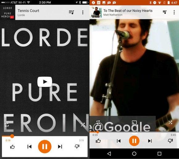 google music compare