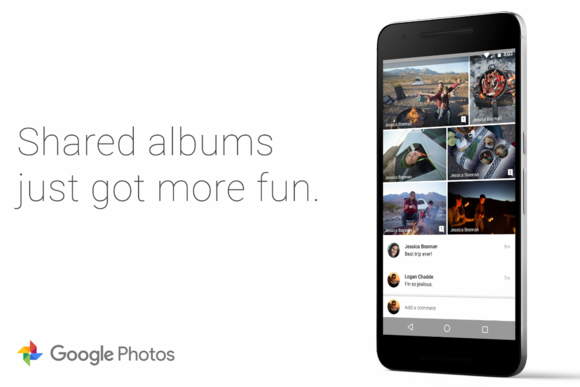 google photos shared albums