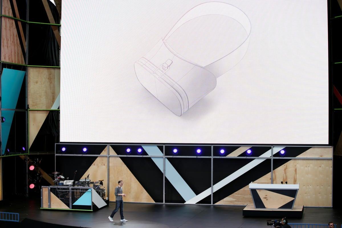 google virtual reality io