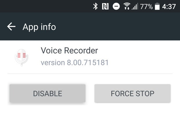 htc 10 tips disable