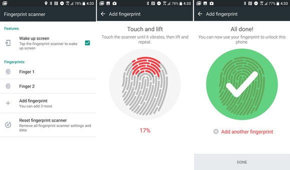 htc 10 tips fingerprints