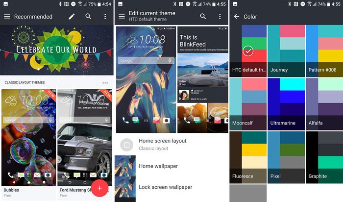 htc 10 tips themes