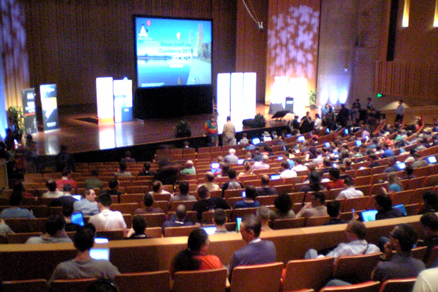 linux conference 2013 opening