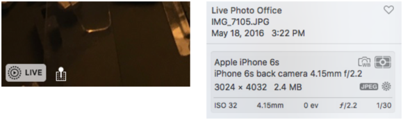 mac911 live photos in os x