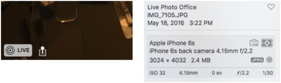 mac911 live photos in os x
