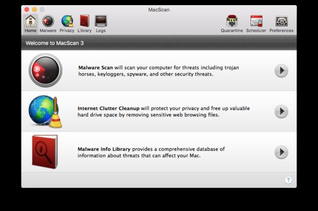 keylogger scanner mac