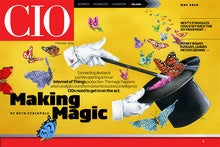 CIO May 2016 digital magazine cover