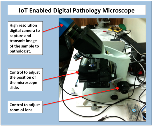 IoT Microscope Pathology Epidemic