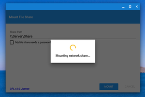 Google's Network File Share for Chrome OS app