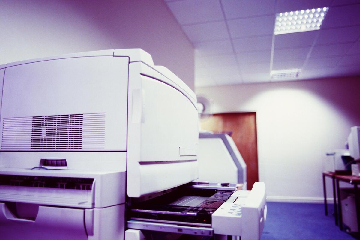 office machines printer multifunction
