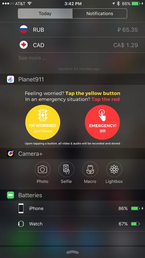 planet 911 widget