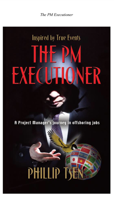 The PM executioner book jacket