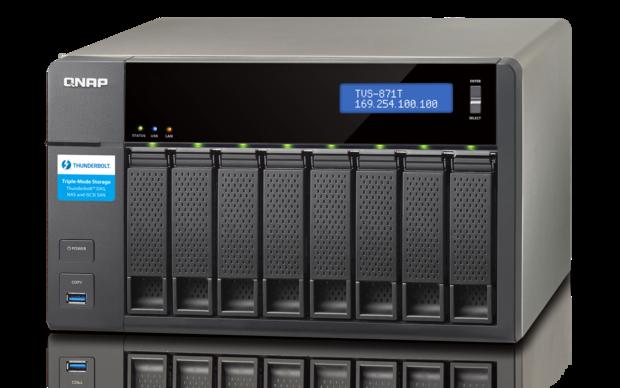QNAP NAS also does DAS via Thunderbolt | Network World