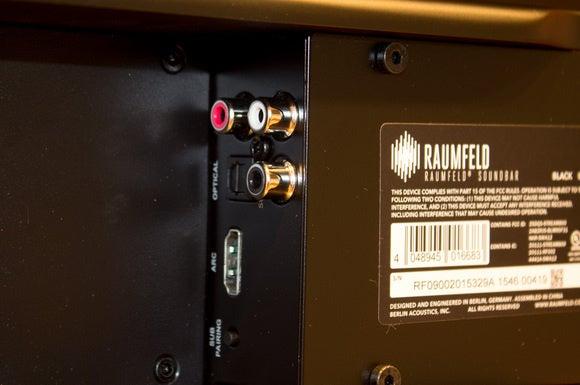 raumfeld soundbar ports