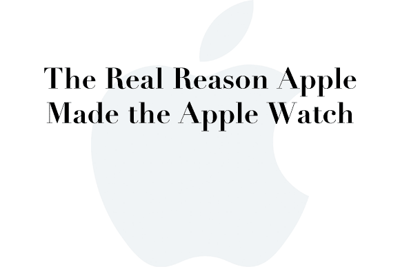 real reason apple watch