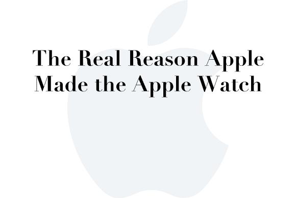 real reason apple watch