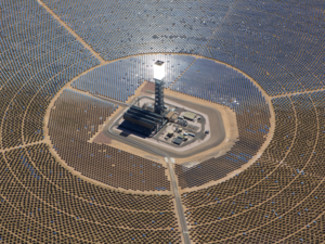 Ivanpah solar power